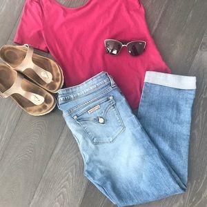 🌀HUDSON Capri jeans